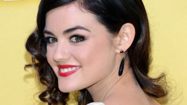 Lucy Hale - CMA Awards 2012