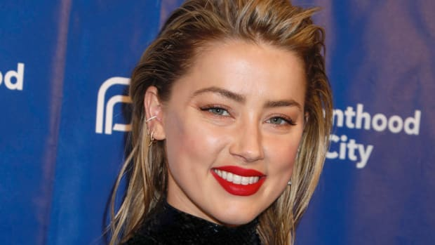 Amber Heard before and after