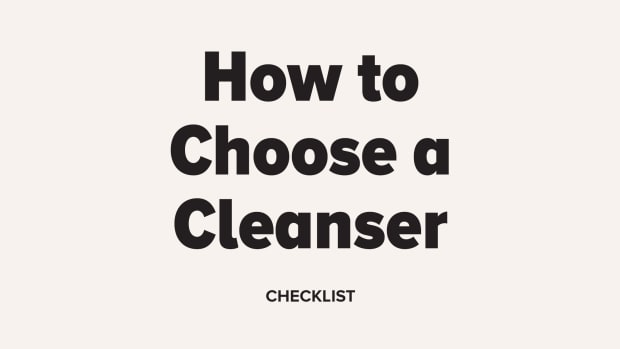 How to Choose a Cleanser Checklist