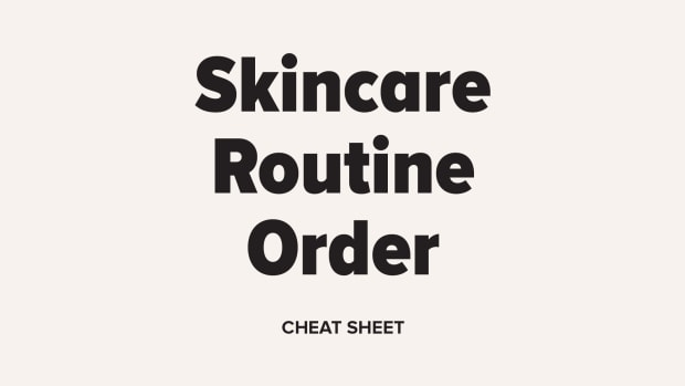 Skincare Routine Order Cheat Sheet