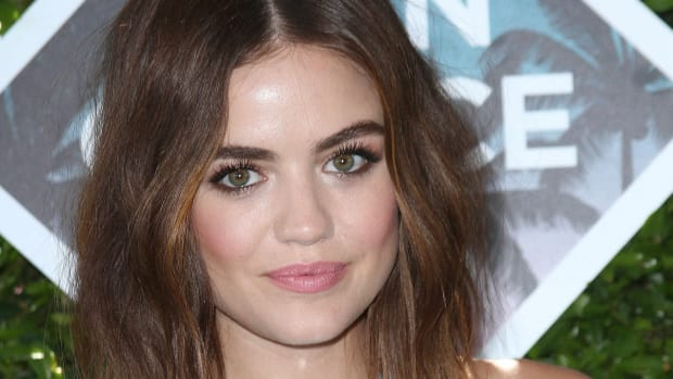 Lucy Hale hair makeup