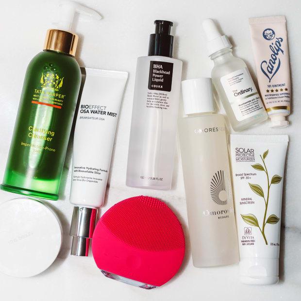 Skincare routine summer 2018