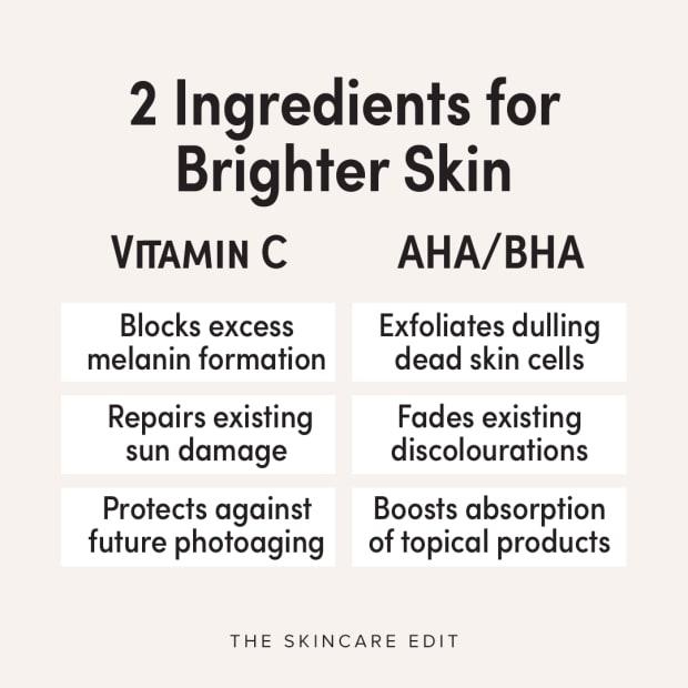 2 ingredients for brighter skin
