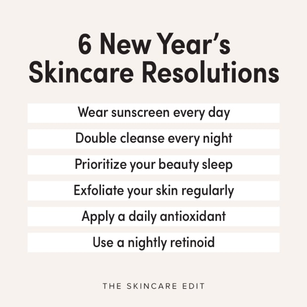 New Year's skincare resolutions