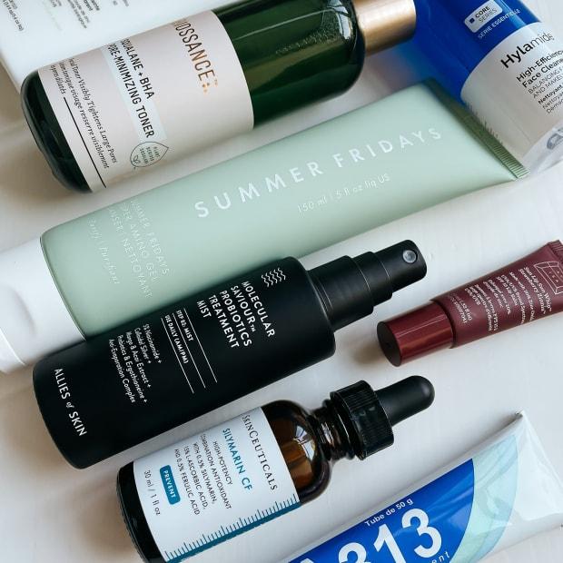 Skincare routine spring-summer 2021