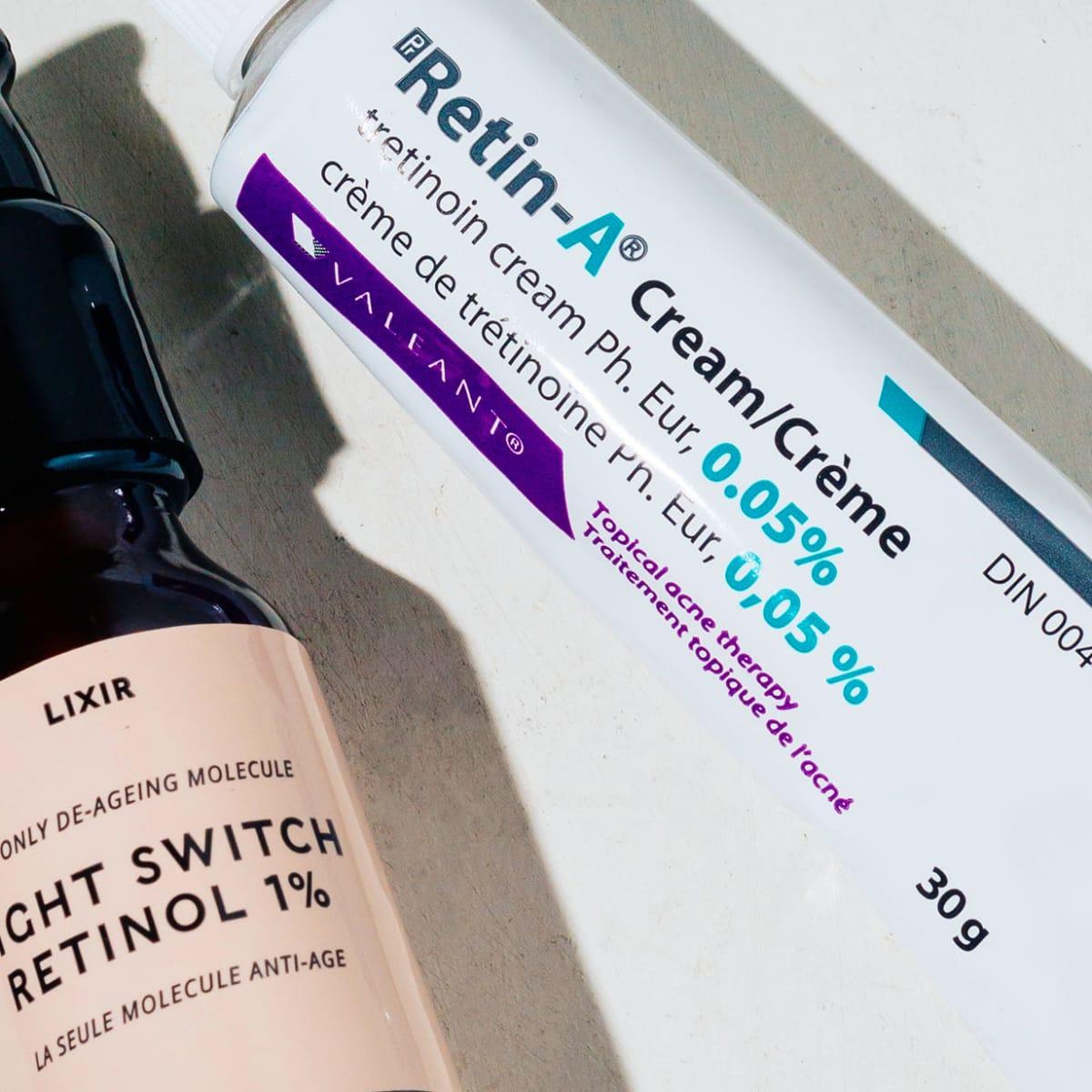 a vitamin creme acne