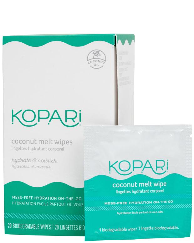 Kopari Coconut Melt Wipes