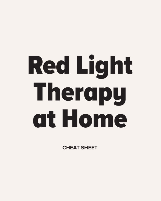 Red Light Therapy at Home Cheat Sheet