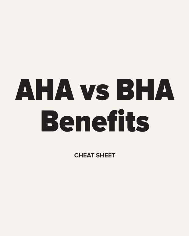 AHA vs BHA Benefits Cheat Sheet