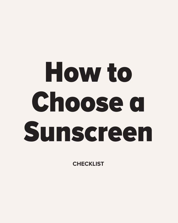 How to Choose a Sunscreen Checklist