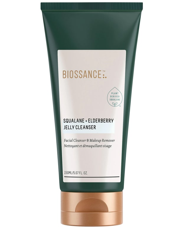 Biossance Squalane Elderberry Jelly Cleanser