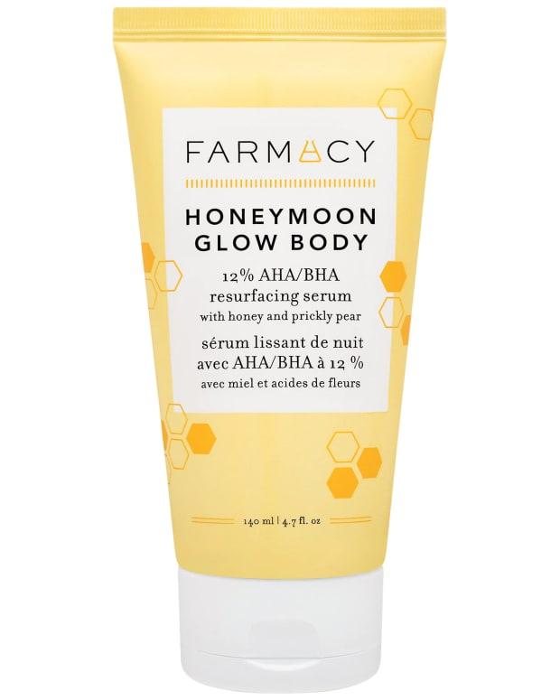 Farmacy Honeymoon Glow Body 12 AHA BHA Resurfacing Serum