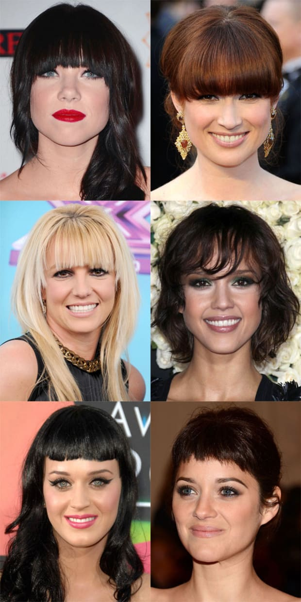 Wondrous The Best And Worst Bangs For Oval Faces The Skincare Edit Schematic Wiring Diagrams Amerangerunnerswayorg