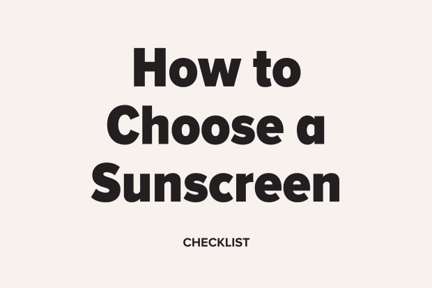 Member Exclusive: How to Choose a Sunscreen (Checklist)