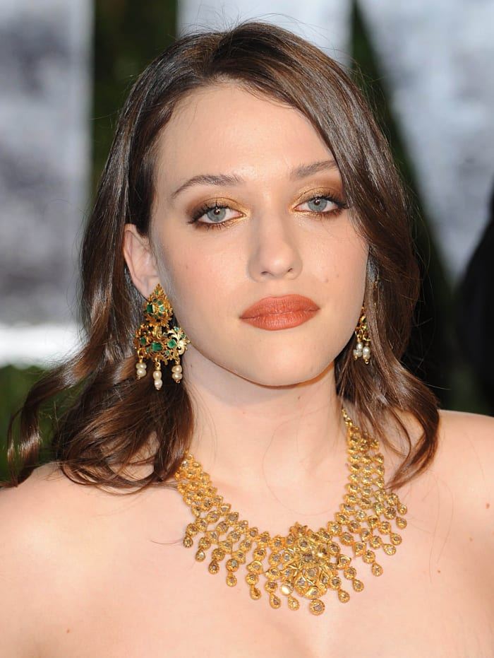 Kat Dennings Before And After The Skincare Edit