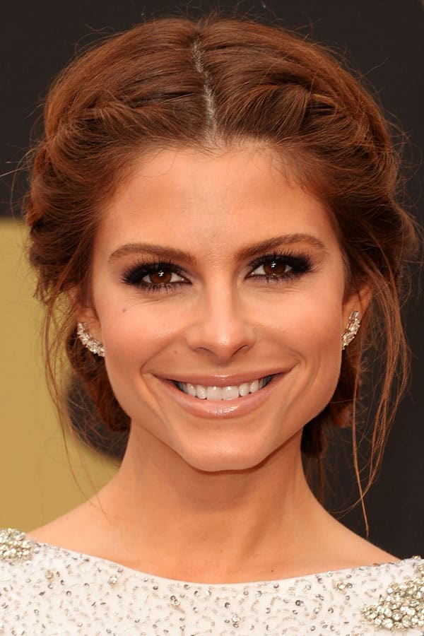red carpet hair styles oscars 2014 the best looks on the carpet the 3252 | maria menounos academy awards 2014