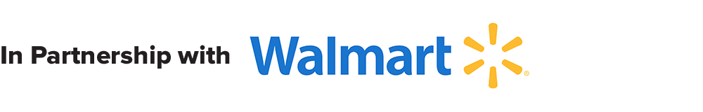 In Partnership with Walmart