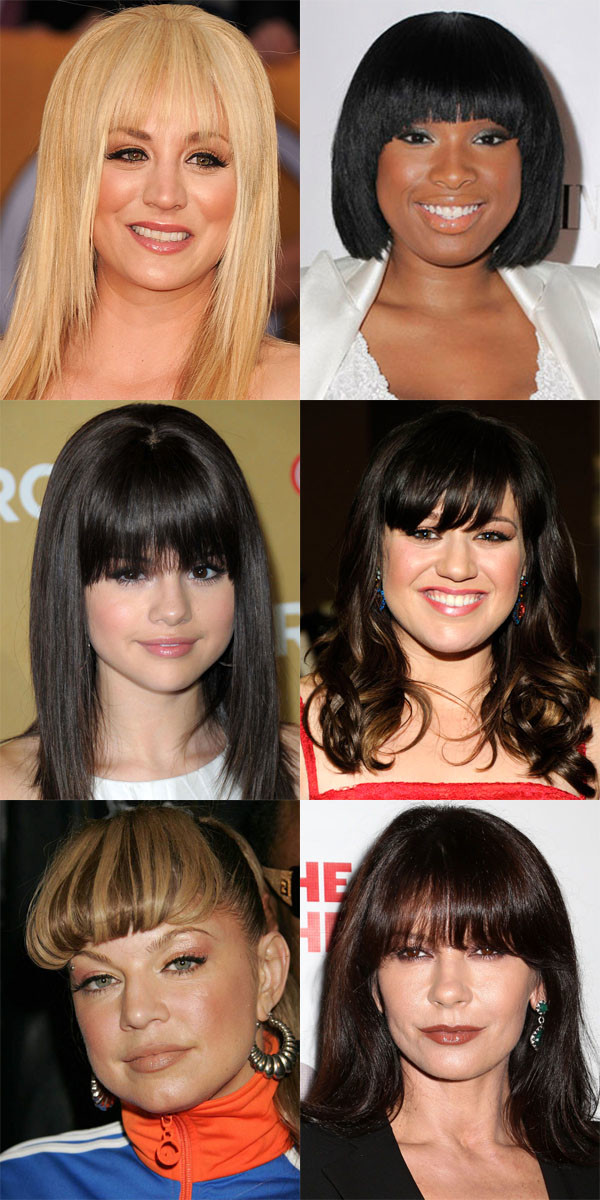 The Worst Bangs for Round Faces