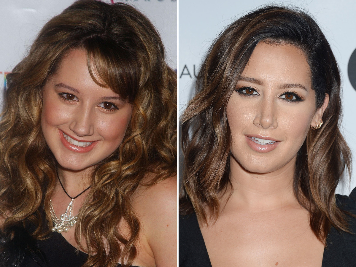 Ashley Tisdale, Before and After - The Skincare Edit
