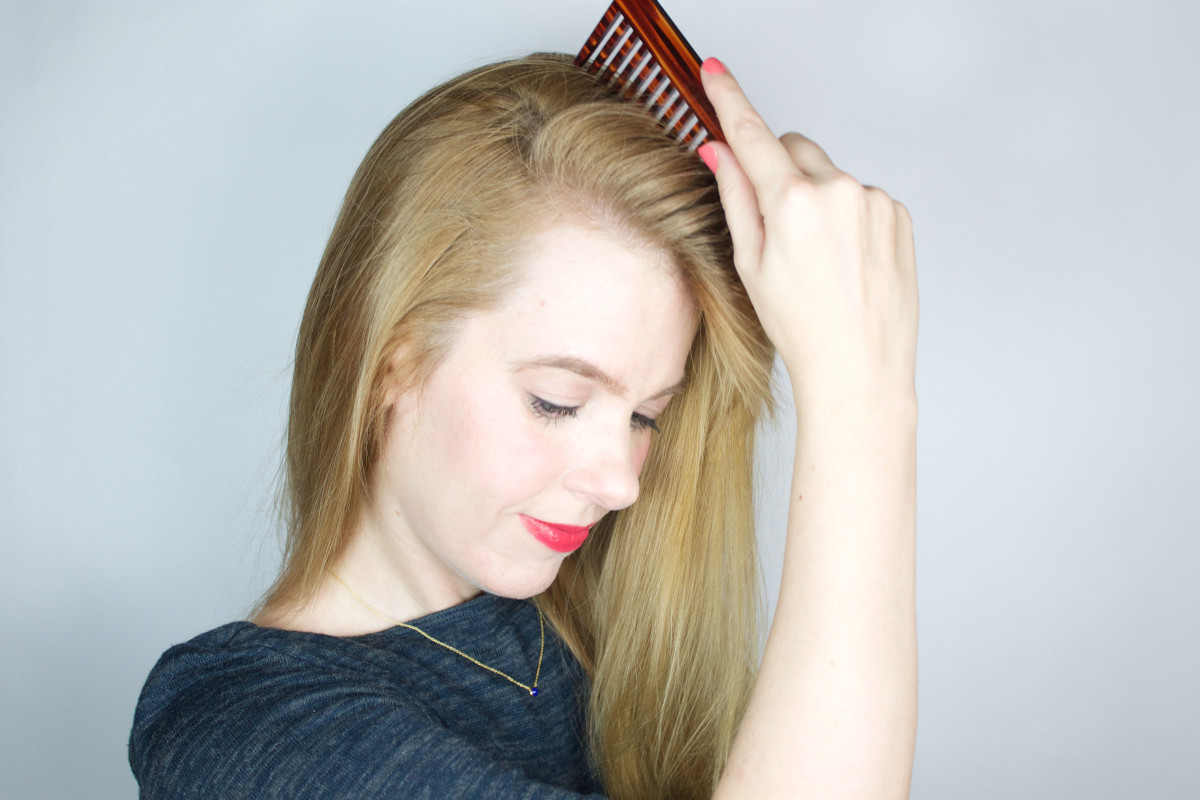 How to make volume at the roots for the whole day 23