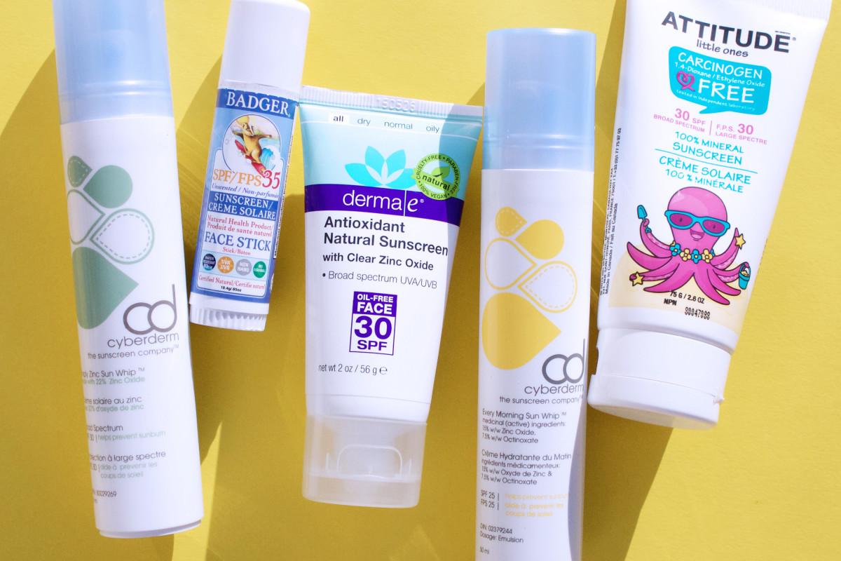 zinc sunscreen for face