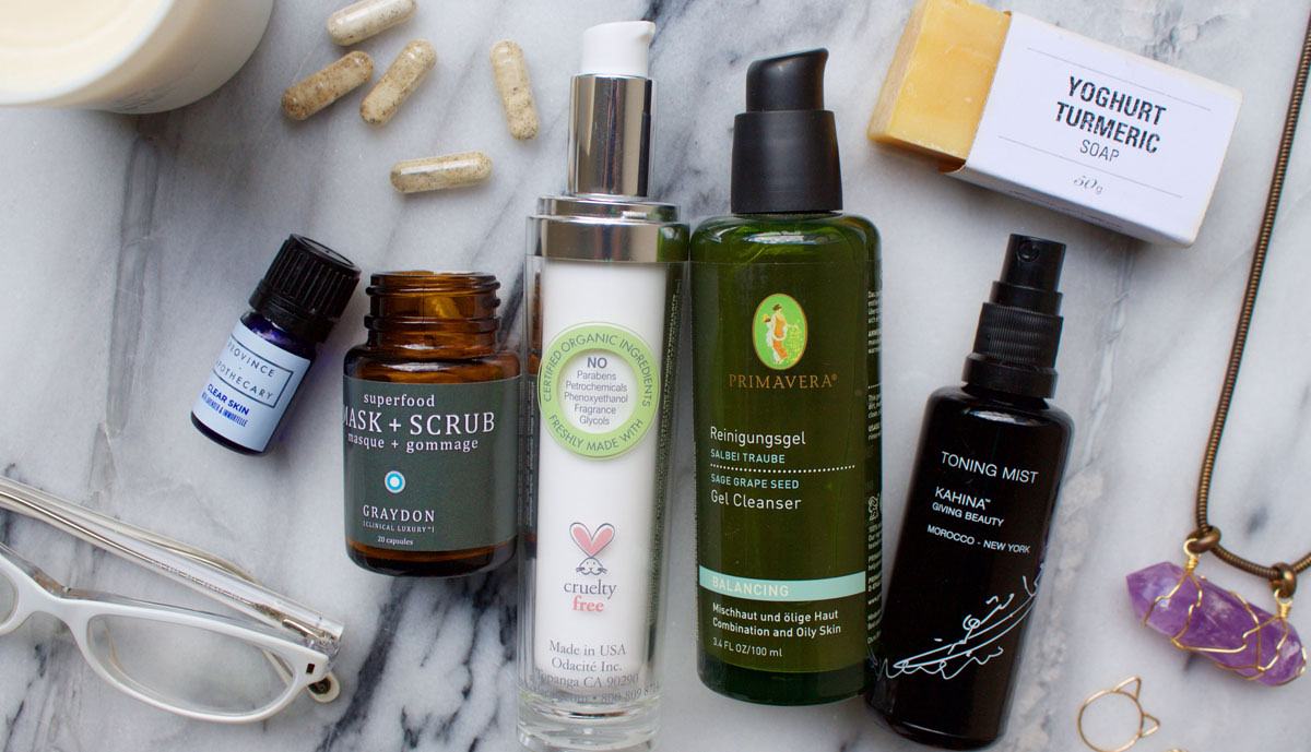 good natural skin care products