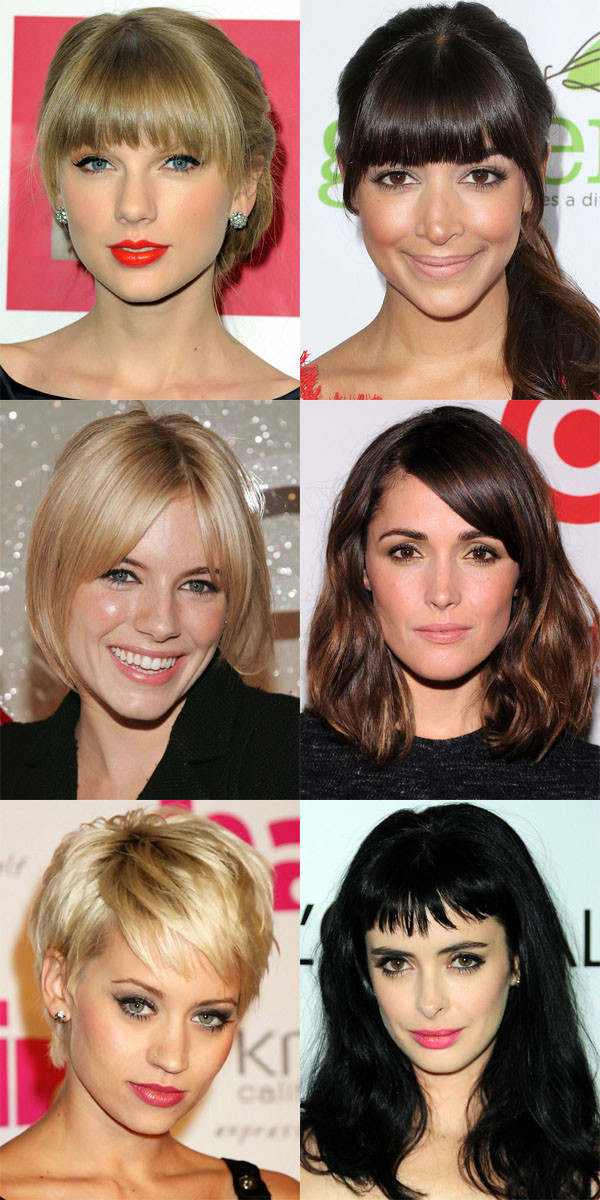 The Best And Worst Bangs For Oval Faces The Skincare Edit
