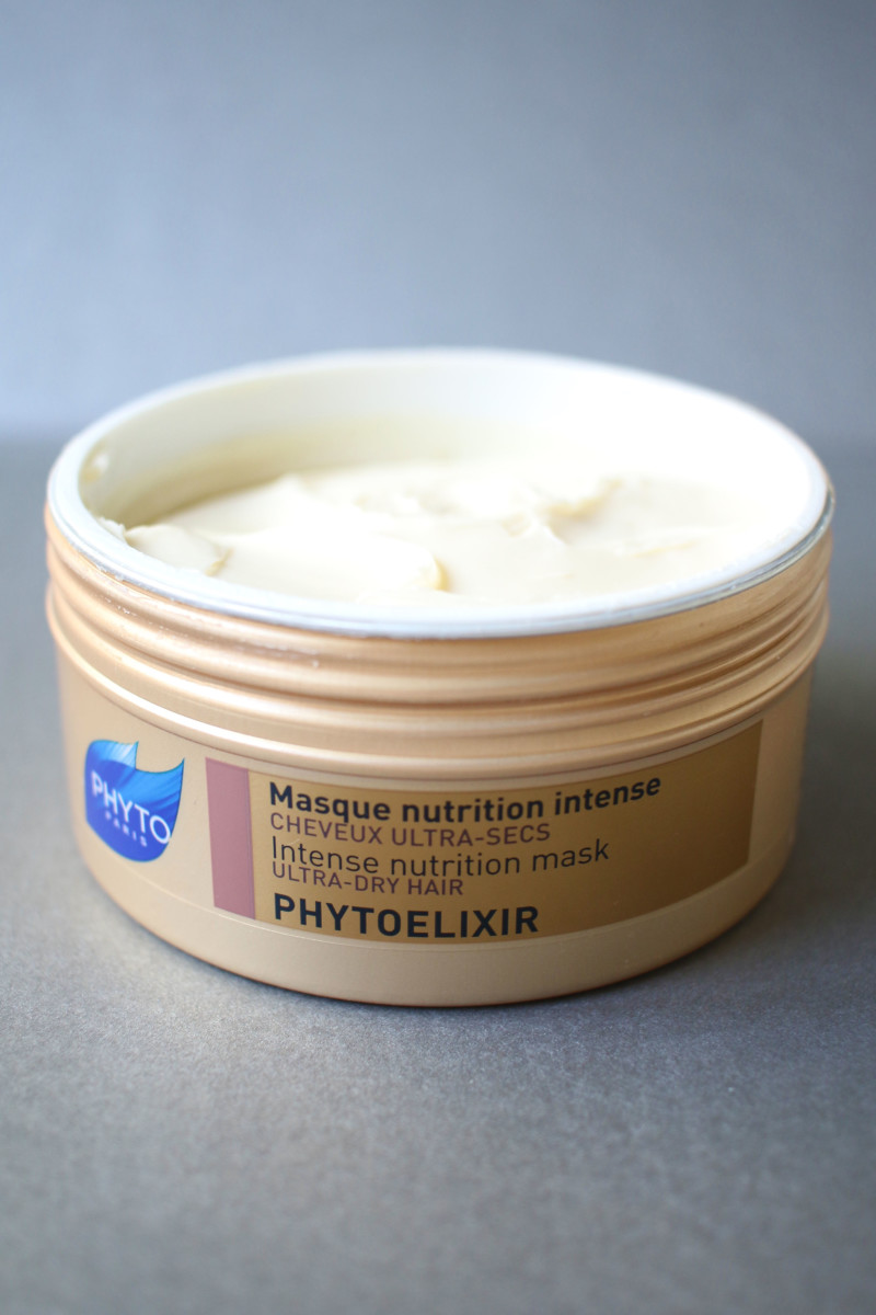 Phyto Phytoelixir Intense Nutrition Mask.