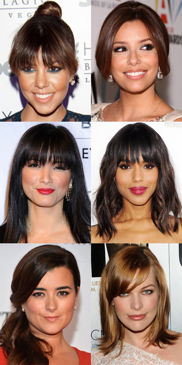 The Best And Worst Bangs For Heart Shaped Faces The Skincare Edit