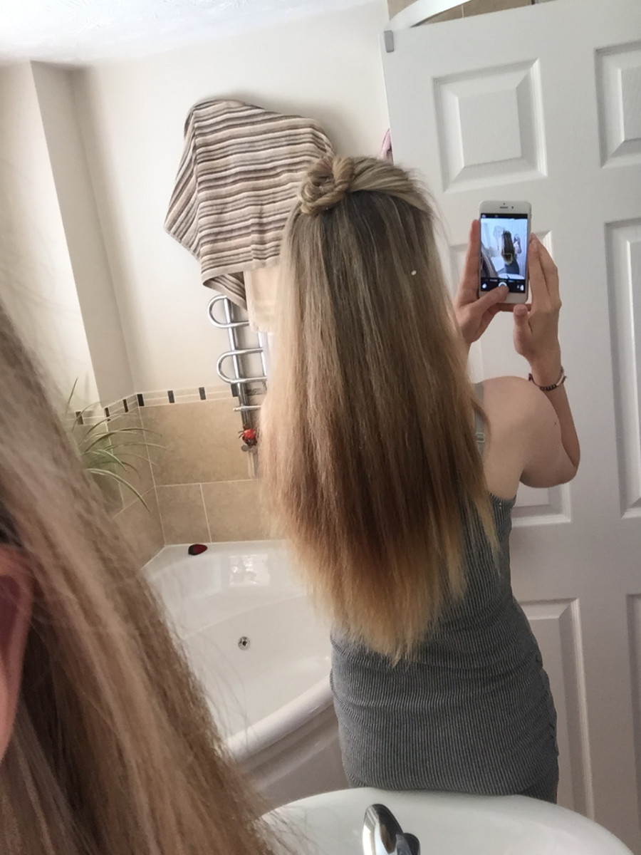 Dip Dyed Hair How To Get Rid Of