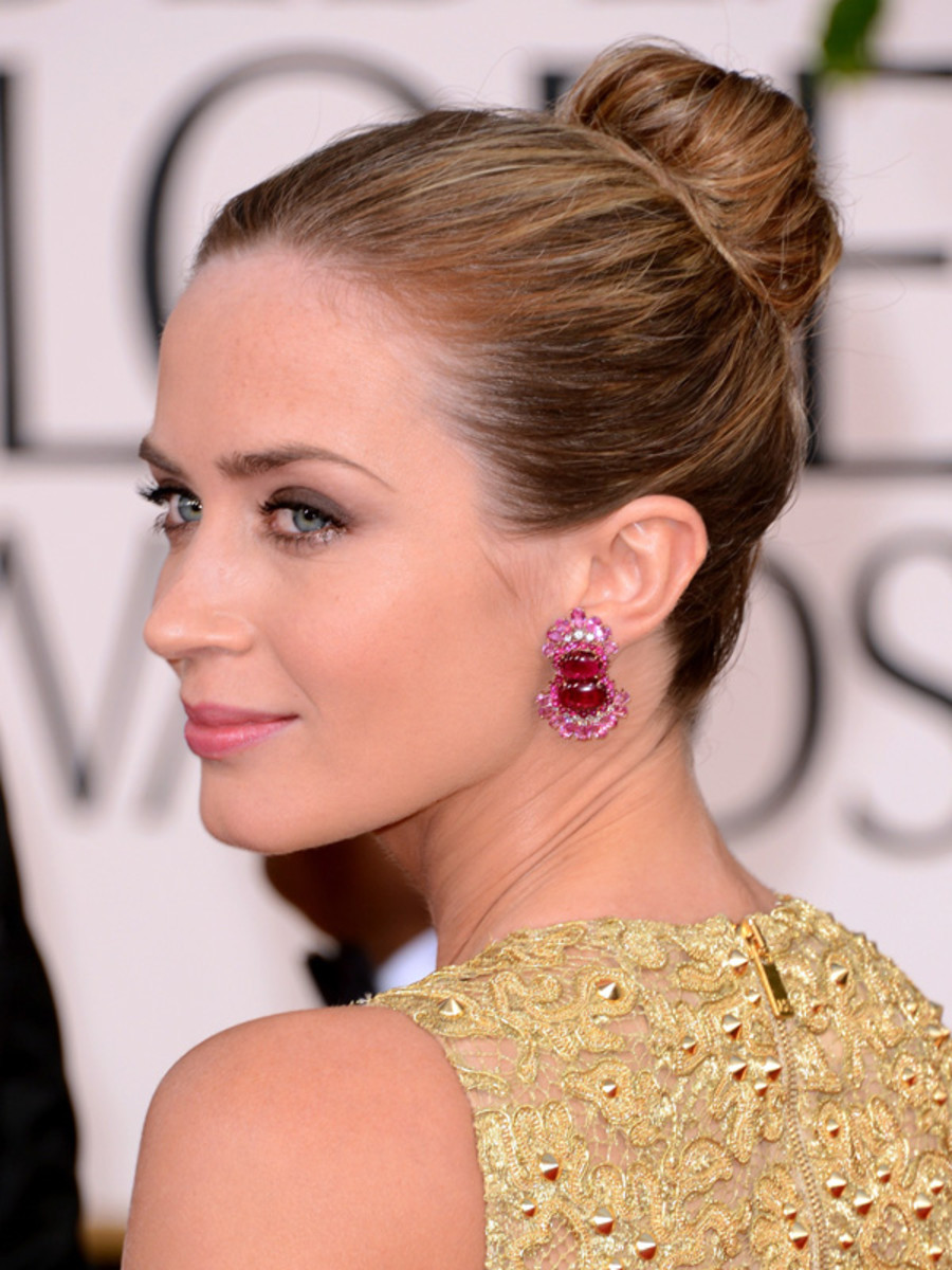 Emily Blunt - Golden Globe Awards 2013