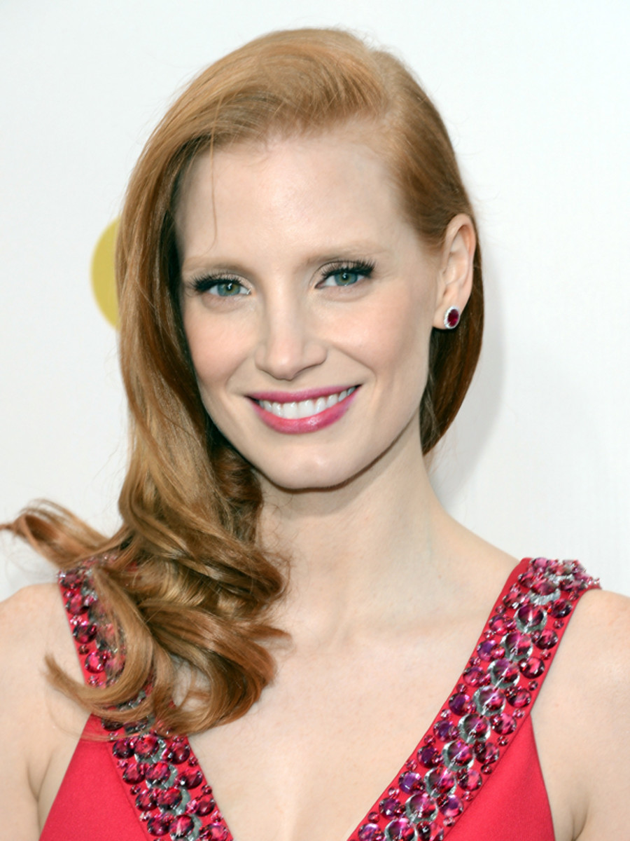 Jessica Chastain - Critics Choice Awards 2013