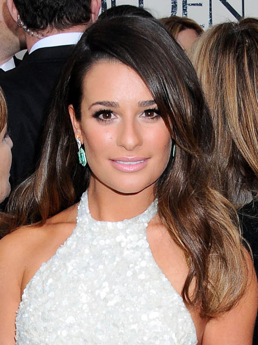 Lea Michele - Golden Globe Awards 2013