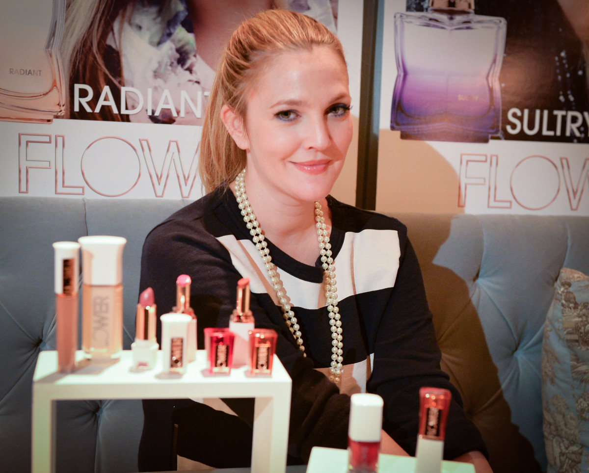 Drew Barrymore On The Launch Of Flower Beauty In Canada The