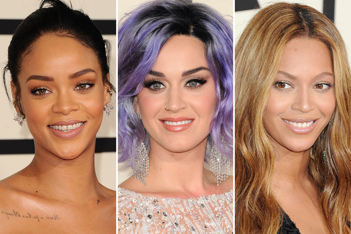 The Best Beauty Looks at the 2015 GrammyAwards images