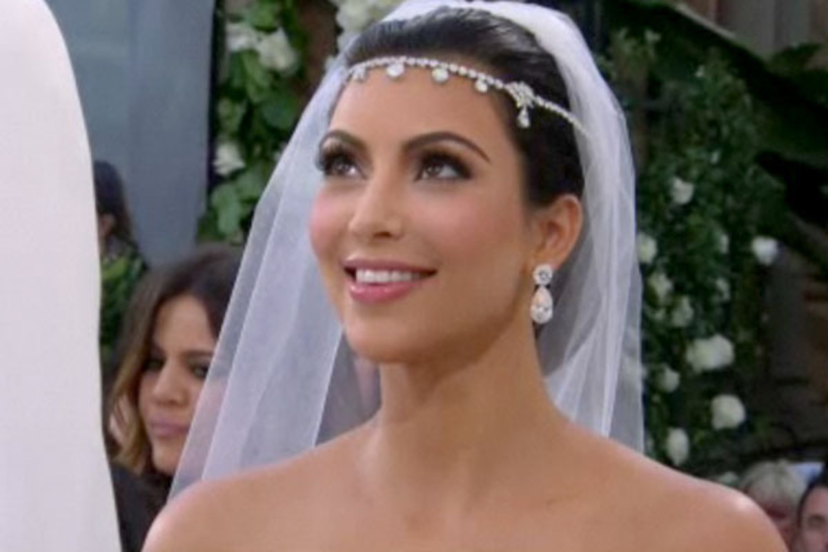Lets Analyze Kim Kardashians Wedding Hair And Makeup The
