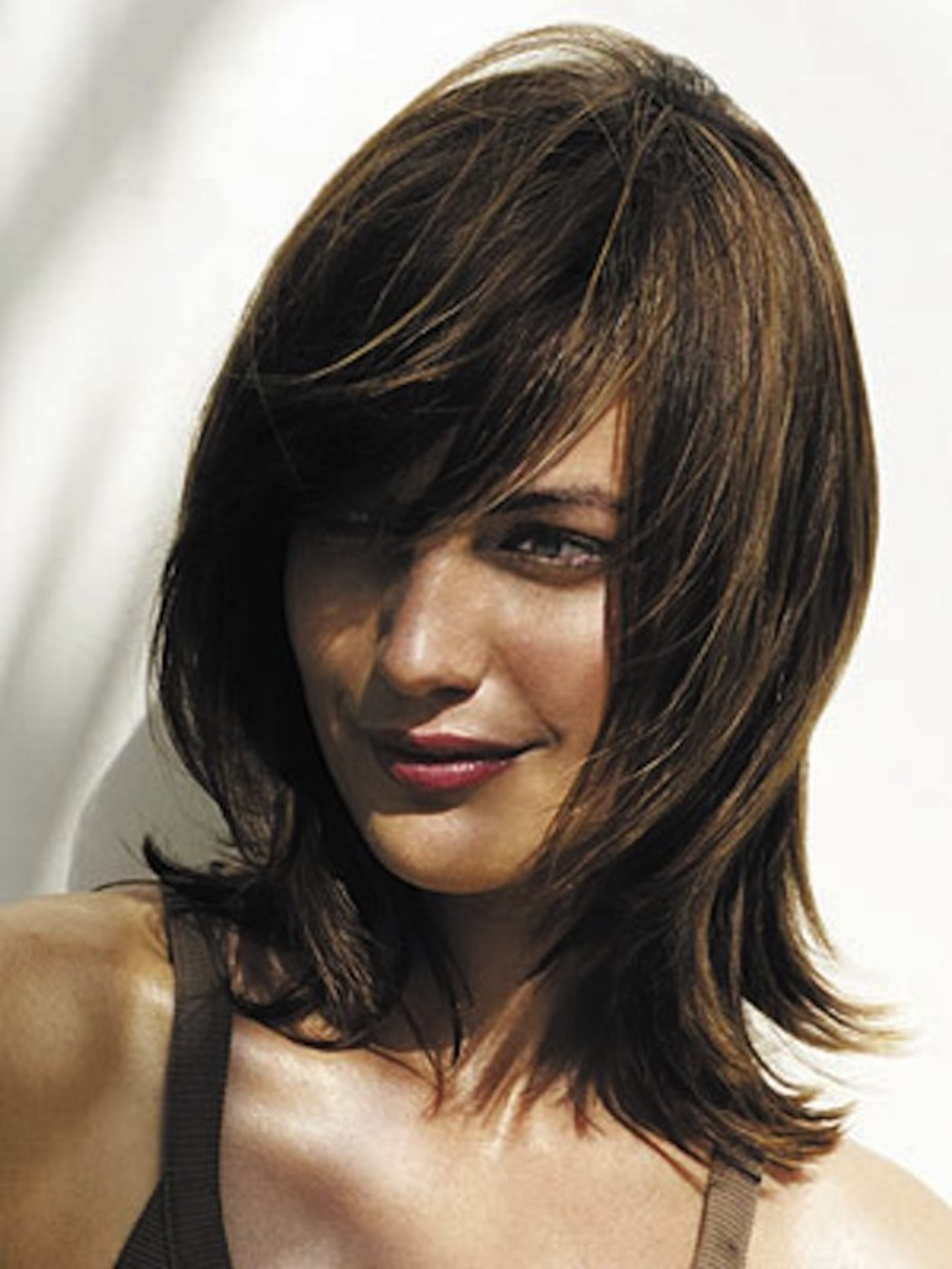 The Best Hairstyles For A Front Cowlick The Skincare Edit