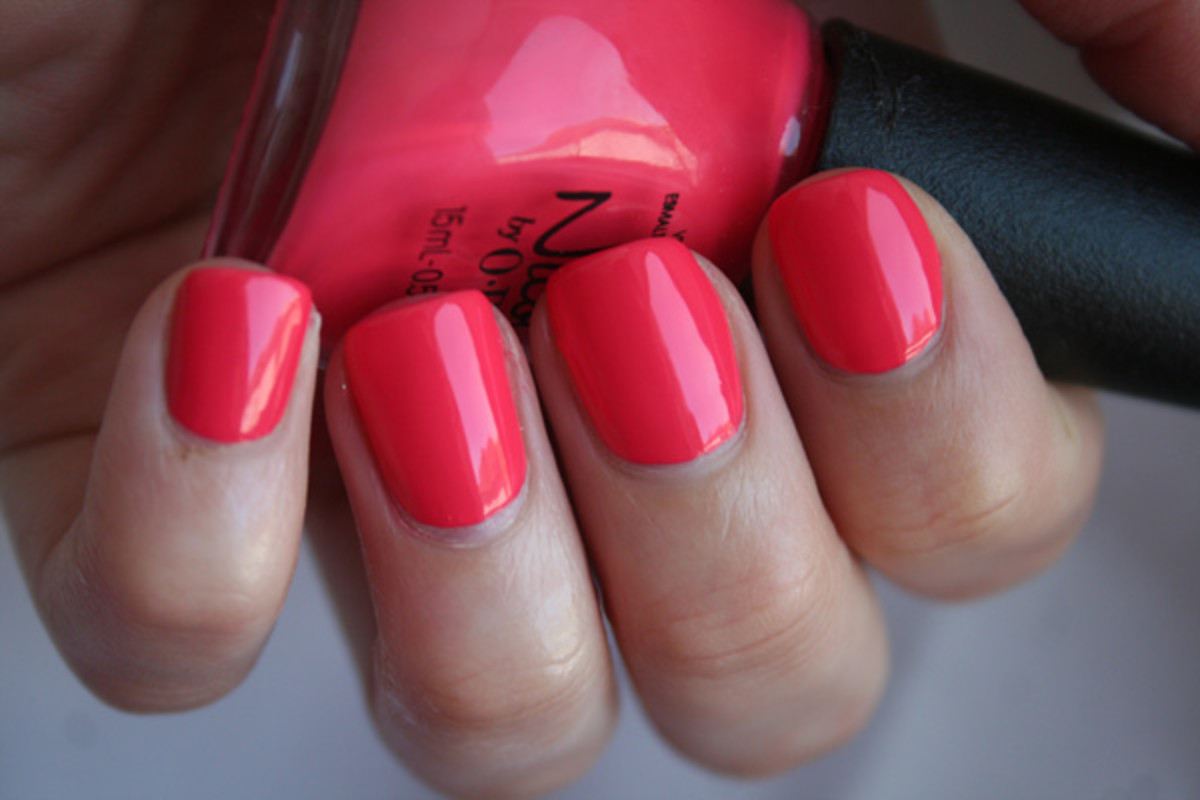 The Best Neon Nail Polishes Of Summer 2014 The Skincare Edit