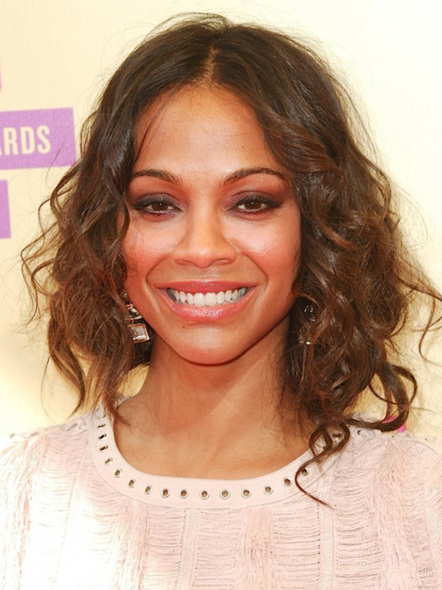 Zoe Saldana - MTV Video Music Awards 2012