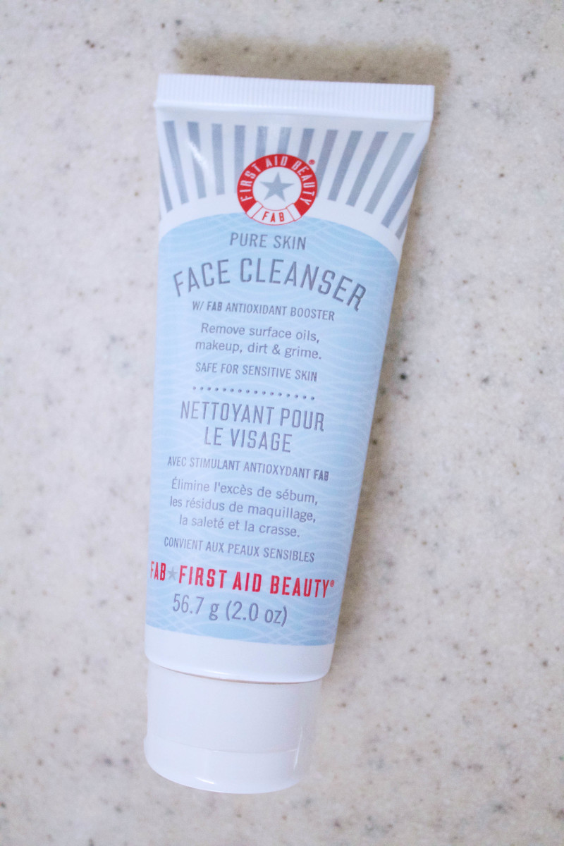 First Aid Beauty Face Cleanser Review Sulfate Free Cleanser For All