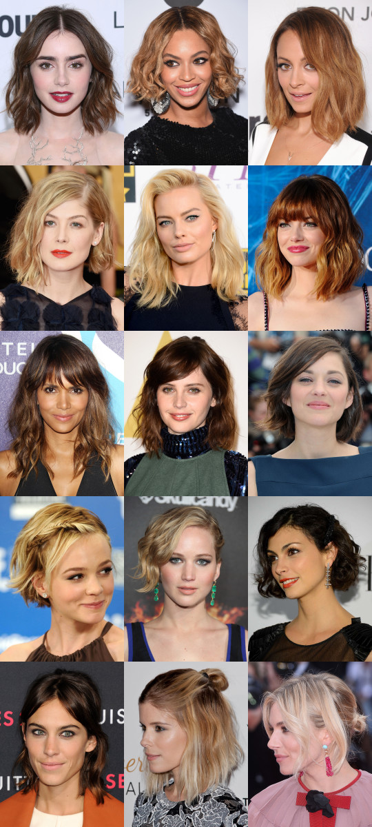 15 Of The Best Hairstyles For Medium Length Wavy Hair The Skincare Edit