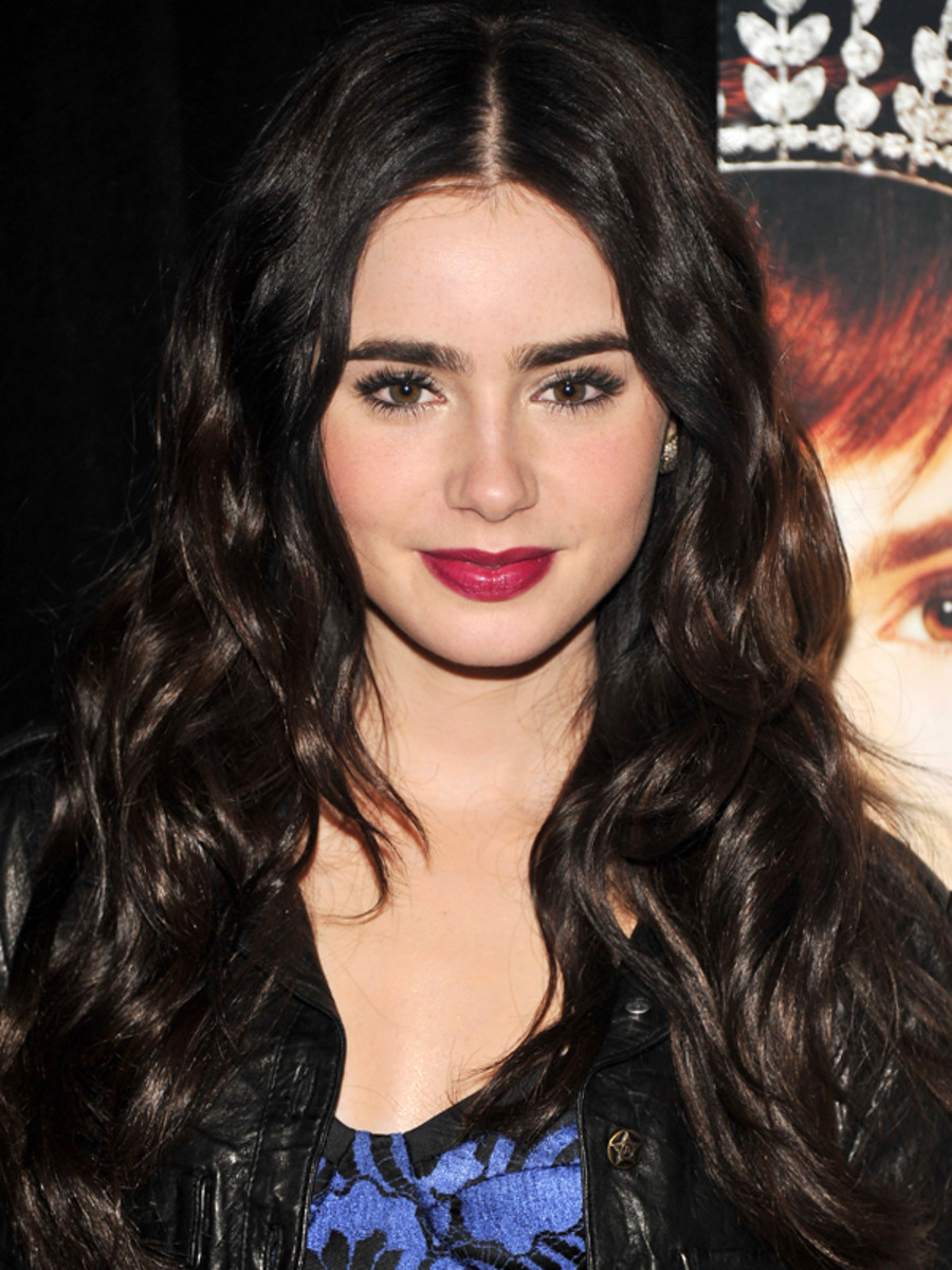 Lily Collins 10 Best Hair And Makeup Looks The Skincare Edit