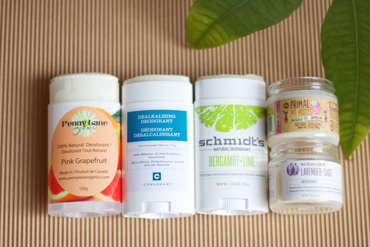 4 of the Most Effective Natural Deodorants - The Skincare Edit