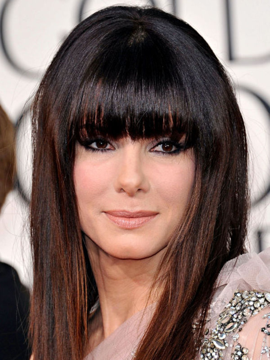 The Best And Worst Bangs For Square Face Shapes The Skincare Edit