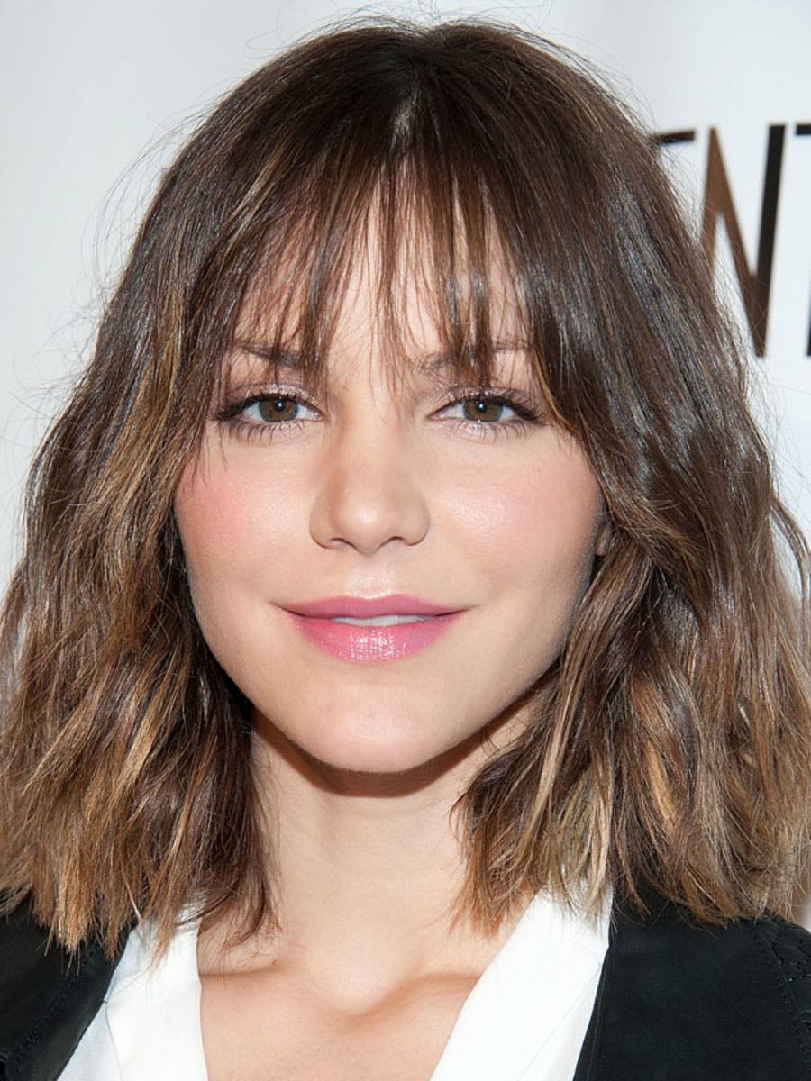 The Best And Worst Bangs For Diamond Faces The Skincare Edit