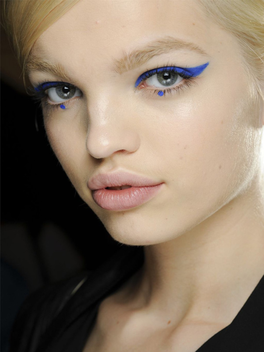 Blue Eye Makeup Is Emerging As The Big Trend To Watch