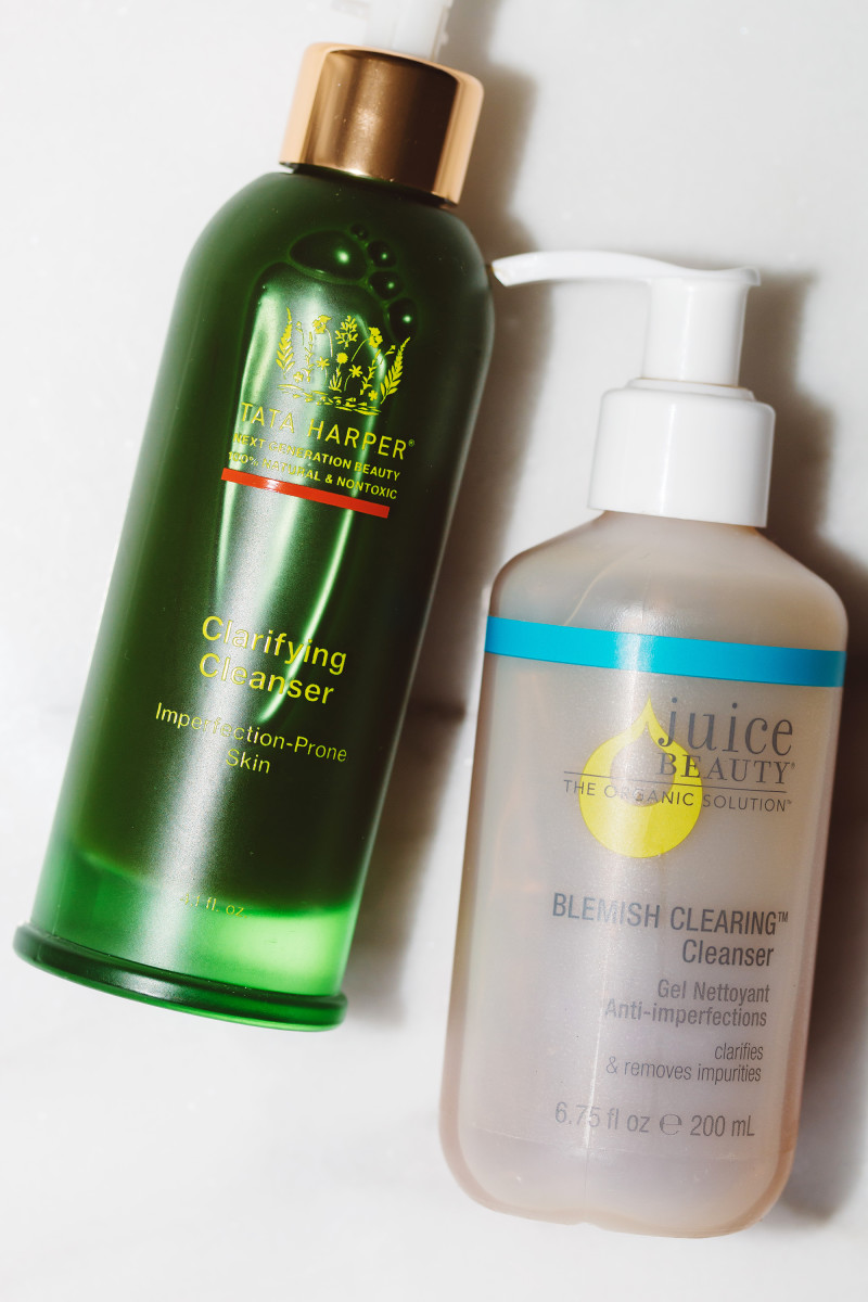 Tata Harper Clarifying Cleanser and Juice Beauty Blemish Clearing Cleanser