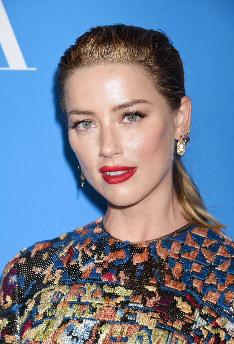 Amber Heard, Hollywood Foreign Press Association Grants Banquet, 2018