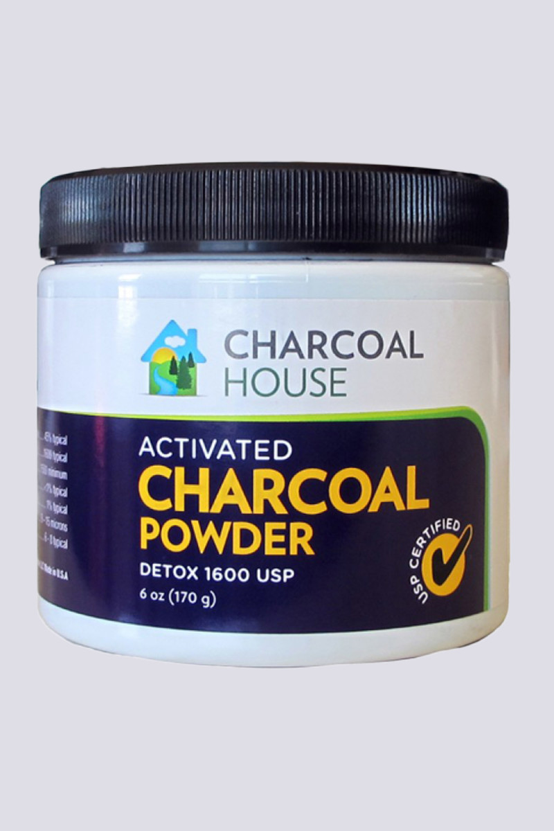 Charcoal House DETOX 1600 Coconut Activated Charcoal Powder
