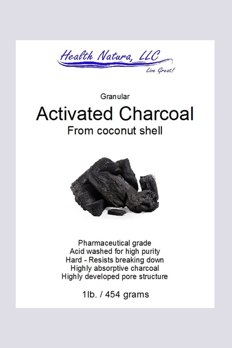 Health Natura Granular Activated Charcoal From Coconut Shell
